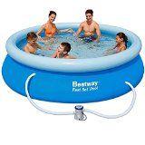 http://ift.tt/1Vf16ab Bestway 57109GS  Fast Set Pool 305 x 76 cm mit Pumpe