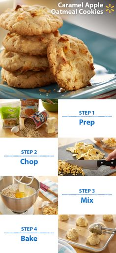 Somebody say cookies? The fans at your football party will gobble up this sweet treat! Caramel Apple Oatmeal Cookies are a delicious combo of Pillsbury Cookie Mix w/ rolled oats, melted butter and dried apples. Have a Game Time recipe you love? You could win a trip to YouTube Space L.A. to help film a video! To enter, post a photo of your game snack on Twitter or Instagram with #walmartMVPcontest. Contest ends 11/9/15. Check out more Walmart Game Time recipes & tips.