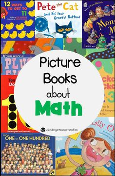 Must Read Monday: Must Read Books About Math - The Kindergarten Connection