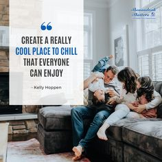 Make your home a place you and your family can enjoy every day! Encouraging Images, Kelly Hoppen, Chill, Make It Yourself, Canning, Couple Photos, Places, Couple Shots, Couple Photography