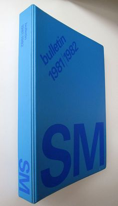 SM bulletin 1981|1982, design: Total Design / 1982