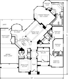House Plans on good small 3 bedroom house plans floor open