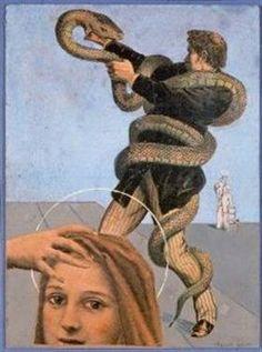 The Giant Snake - Max Ernst