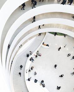 My favorite museum- Solomon R.Guggenheim Museum New York. Fall 2016