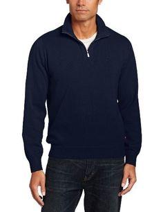 Columbia Men's Roc Ii 1/2 Zip Sweater, Collegiate Navy, Large ...