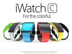 iWatchC Martin Hajek improved design - iHash.eu