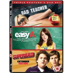 http://ift.tt/2dNUwca | Bad Teacher / Easy A / Superbad Triple Box Set DVD | #Movies #film #trailers #blu-ray #dvd #tv #Comedy #Action #Adventure #Classics online movies watch movies  tv shows Science Fiction Kids & Family Mystery Thrillers #Romance film review movie reviews movies reviews