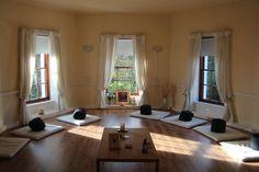 sunny meditation room