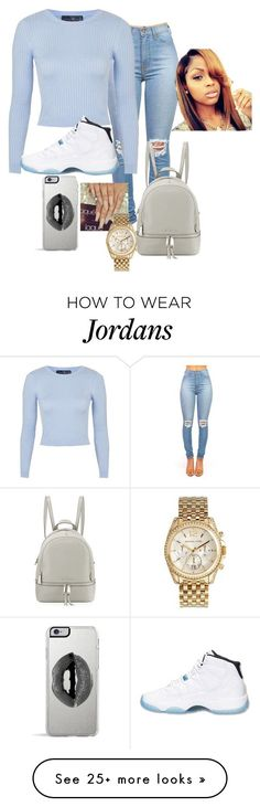 """""""Untitled #70"""" by jassyashcraft19 on Polyvore featuring Topshop, Retrò, Michael Kors, MICHAEL Michael Kors, Lipsy, women's clothing, women's fashion, women, female and woman Dope Outfits, Swag Outfits, Fall Outfits, Summer Outfits, Casual Outfits, Teen Fashion, Fashion Outfits, Womens Fashion, Fashion Trends"""