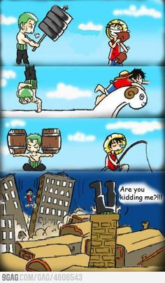 One Piece..HAH!  XD