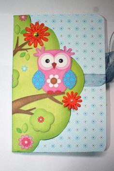 Mini álbum owl  2 close