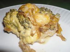 Crock-pot Chicken and broccoli casserole. Yummy!!!