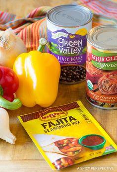 Making Skinny Chicken Fajita Soup Recipe - Low Fat, Gluten Free, & Low Carb Option!