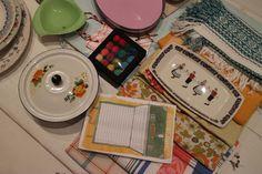 Rachel Khoo's Kitchen Notebook vintage props