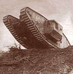 MkIV ww1 tank