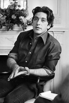 Al Pacino. He was really nice looking when he was young.
