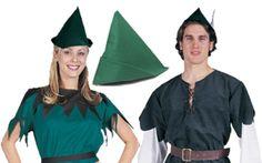 Elf Hat - Green felt hat suitable for Elves, Peter Pan or Robin Hood #pattys #day