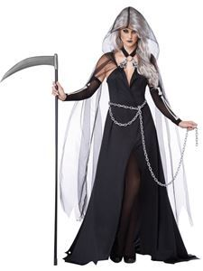 Lady Reaper Adult Womens Costume - 352720 | trendyhalloween.com #trendyhalloween #womenscostumes