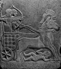 The Hittites relied on their mastery of chariot warfare. The bronze-age Hittite Empire survived for 400 years. Ancient Aliens, Ancient Egypt, Ancient History, Art Ancien, Ancient Near East, Age Of Empires, Ancient Civilizations, Ancient Mesopotamia, Troy