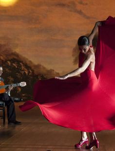 Sara Baras, fantastic flamenco dancer