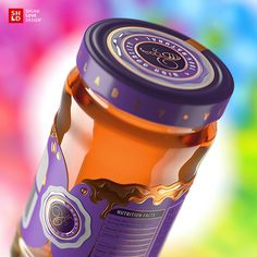 Vladov exclusive line on Packaging of the World - Creative Package Design Gallery Brand Identity Design, Design Agency, Branding Design, Design Packaging, Motion Design, Honey Packaging, Food Packaging, Packaging Ideas, Honey Logo