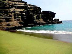 Papakolea Beach - Hawaii - Stati Uniti