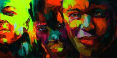 Check out the work of this talented French painter Francoise Nielly.