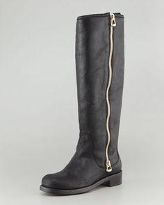 Jimmy Choo Doreen Tall Full-Zip Boot - Neiman Marcus