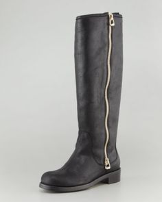 Jimmy Choo Doreen Tall Full-Zip Boot - Neiman Marcus