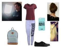 """Flying with Cam"" by baileejade ❤ liked on Polyvore featuring Vans and Object Collectors Item"