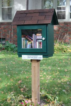 Little Free  Library started  in Chisholm, MN.