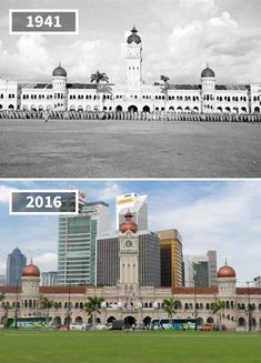 Before & After Pics Showing How The World Has Changed Over Time By Re.Photos - Beauty of Planet Earth Then And Now Pictures, Before And After Pictures, European Road Trip, Old Abandoned Buildings, Cities, Before After Photo, Paris City, Change, Martin Luther