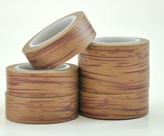 Woodgrain Washi Tape by Freckled Fawn - Two Peas in a Bucket