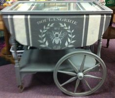 painted tea carts - Google Search