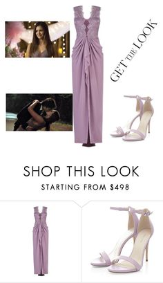 """Get The Look: Elena Gilbert's Goodbye"" by taylor-monroe-3 ❤ liked on Polyvore featuring BCBGMAXAZRIA"