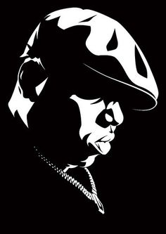 NOTORIOUS BIG Vinyl Home Decor Wall Decal Sticker by StickzOut, $20.00