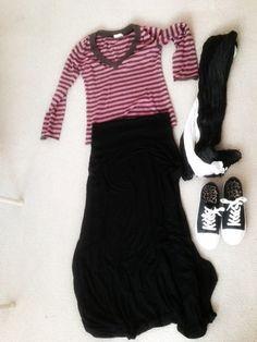 Outfit 2 #modesty #maxiskirt #modestoutfit