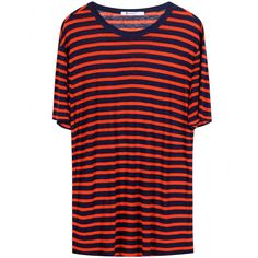 T by Alexander Wang - Stripe Short jersey T-shirt - Stripes will never go out of style. This relaxed short-sleeve jersey top from T by Alexander Wang looks as good paired with off-duty denim as it does with chic pencil skirts. - @ www.mytheresa.com