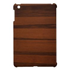 Wooden style iPad mini cover. #iPadmini #accessories #wooden #Wood #elegance #woodenlook Available at http://www.zazzle.com/wooden_style_ipad_mini_cover-256279723367396582?rf=238464442738264151