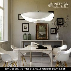 Soften up any ambiance of a room with the Lederam S2 Chandelier, a Catellani and Smith product, at 15% OFF. Shop online https://www.interior-deluxe.com/lederam-s2-chandelier-from-catellani-smith.html #ModernLighting #InteriorDeluxe #CatellaniandSmith