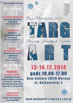 W ten weekend ladnezapachy.pl zapraszają do Domu Kultury na Morenie, gdzie będziemy pokazywać produkty z naszej oferty. Nie masz pomysłu na prezent? Przyjdź, zobacz i kup! www.ladnezapachy.pl