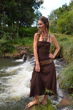 Ishtar Dress vestito elegante lungo Abito di NatureSpiritDesigns