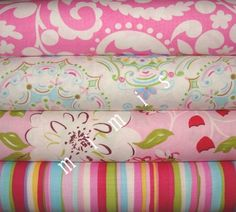 Tea Garden Fabric by DENA Designs / 4 Half Yard Bundle  by mimis, $18.99