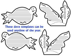 World Peace Lesson Plans, Activities, and Dove Projects