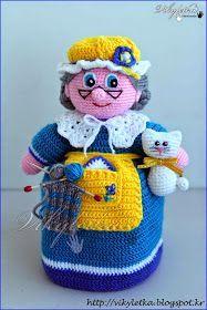 Я свяжу тебе жизнь...: Перчаточная кукла Бабушка для домашнего театра