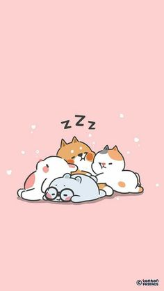 Tonton and Friends. Tobi, Yuta, Bella and Winnie. Whats Wallpaper, Phone Wallpaper Images, Bear Wallpaper, Kawaii Wallpaper, Wallpaper Iphone Cute, Animal Wallpaper, Hd Wallpaper Android, Screen Wallpaper, Cute Kawaii Drawings