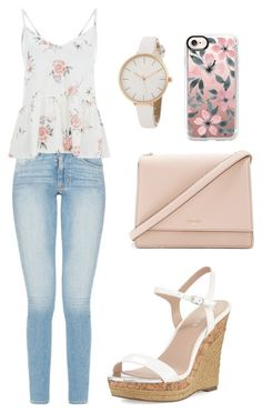 """""""Floral??"""" by bethany-franco on Polyvore featuring Charles by Charles David, Kate Spade and Casetify"""