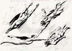 Original Comic Art:Illustrations, Steve Rude Beginner's Guide to Comic Art: CharactersIllustration Original Art (3DTotal Publishing, 2016)....