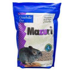 Mazuri is another good food for chinchillas. Stay away from chinchilla food with lots of treats like bits of dried fruit and corn in the ingredients.