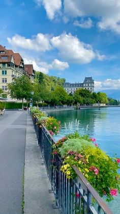amir_asani13 on Instagram: Thun Switzerland 🇨🇭 Have you ever visit This City? Have a beautiful Sunday everyone 🌸🌺